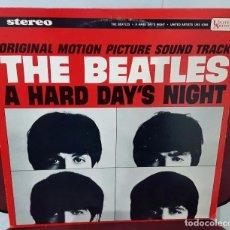 Discos de vinilo: BEATLES - A HARD DAY'S NIGHT - LP -USA - ORIGINAL-STEREO - BUEN ESTADO- PAUL MCCARTNEY- JOHN LENNON . Lote 98497831