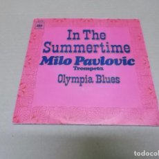 Discos de vinilo: MILO PAVLOVIC (SN) IN THE SUMMERTIME AÑO 1970. Lote 98500811