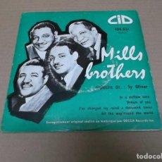 Discos de vinilo: MILLS BROTHERS (EP) IN A MELLOW TONE AÑO 1950 – EDICION FRANCIA. Lote 98501063