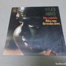 Discos de vinilo: MILES DAVIS (SN) SPANISH KEY AÑO 1970. Lote 98501267