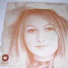 Discos de vinilo: MARY HOPKIN TEMMA HARBOUR /LONTANO DAGLI OCCHI. Lote 98501327