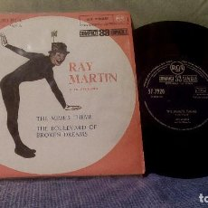 Discos de vinilo: RAY MARTIN Y SU ORQUESTA - THE MIME'S THEME + 1 - EDICIÓN ESPAÑOLA DE 1961 - PROMOCIONAL. Lote 98501727