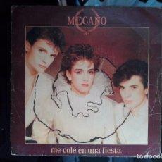 Discos de vinilo: VINILO 7 PULGADAS MECANO . Lote 98505335