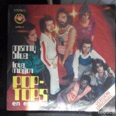 Discos de vinilo: VINILO 7 PULGADAS POP - TOPS . Lote 98506167