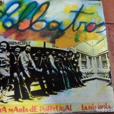 Discos de vinilo: ALBATROS - SANTAMARÍA DE PORTUGAL + 1 (1978). Lote 98540859