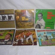 Discos de vinilo - * Lote 6 disco single o EP, variados. ZX - 98549923