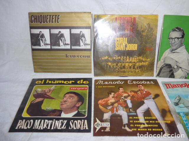 Discos de vinilo: * Lote 6 disco single o EP, variados. ZX - Foto 2 - 98549923