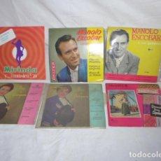 Discos de vinilo - * Lote 6 disco single o EP, variados. ZX - 98549983
