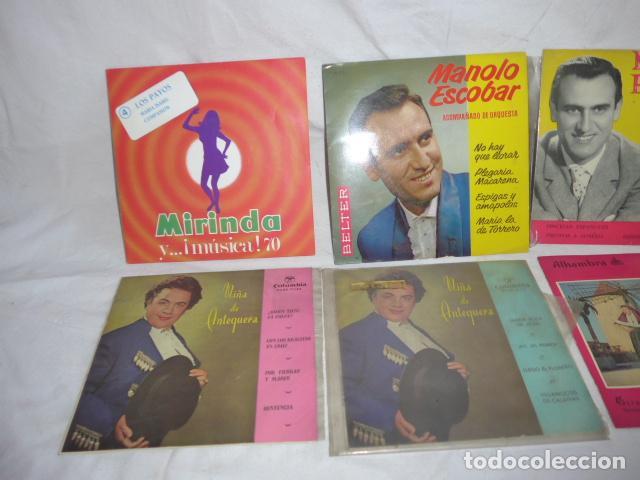 Discos de vinilo: * Lote 6 disco single o EP, variados. ZX - Foto 2 - 98549983