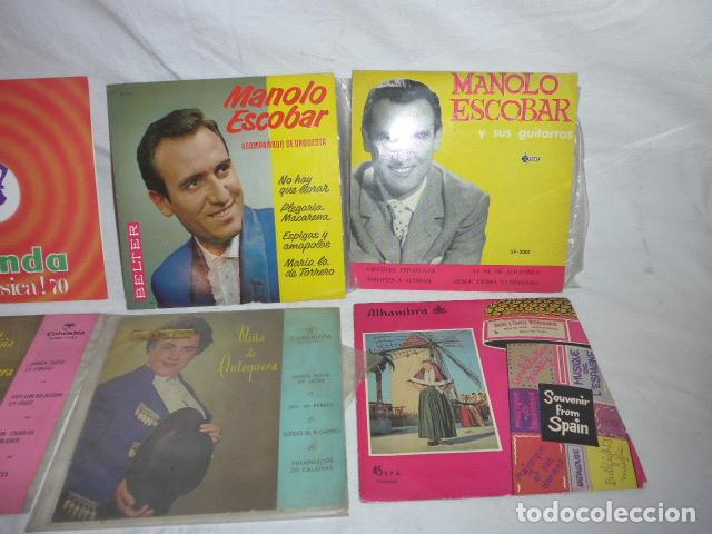 Discos de vinilo: * Lote 6 disco single o EP, variados. ZX - Foto 3 - 98549983