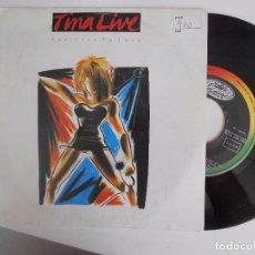 Discos de vinilo: SINGLE DE TINA TURNER-LIVE. Lote 98562175