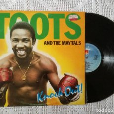 Discos de vinilo: TOOTS AND THE MAYTALS, KNOCK OUT (ISLAND ARIOLA) LP ESPAÑA. Lote 98570235