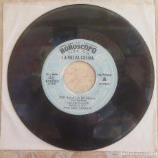 Discos de vinil: CHACALON Y LA NUEVA CREMA - 45S POR ELLA LA BOTELLA/MI DOLOR - 1980S PERÚ CUMBIA PSYCH!!. Lote 98571347