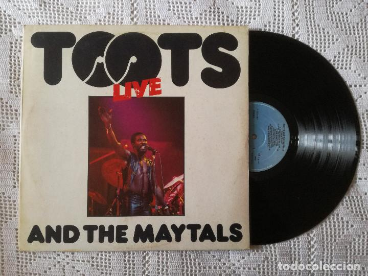 TOOTS AND THE MAYTALS, LIVE (ISLAND ARIOLA) LP ESPAÑA - ENCARTE (Música - Discos - LP Vinilo - Reggae - Ska)