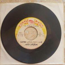 Discos de vinil: CHACALON Y LA NUEVA CREMA - 45S SUFRIR LLORAR PARA QUE/ALEGRE CUMBIA - 1980S PERÚ CUMBIA PSYCH!!. Lote 98572611