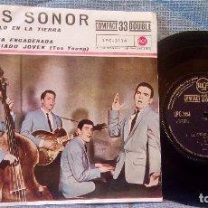 Discos de vinilo: LOS SONOR - EL CIELO EN LA TIERRA + 3 - SU PRIMER EP - AÑO 1961 - COMO NUEVO. Lote 98580015