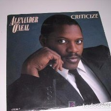 Discos de vinilo: ALEXANDER O'NEAL CRITICIZE. Lote 98583671