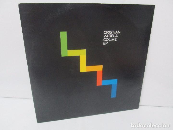 CRISTIAN VARELA COL ME EP. COLMEDEAM ETIAM. PERRAS A TUTTI. LP VINILO. BEDROCK MUSIC 2010 (Música - Discos - Singles Vinilo - Electrónica, Avantgarde y Experimental)