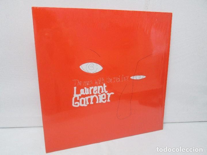 THE MAN WITH THE RED FACE. LAURENT GARNIER. LP VINILO. COMMUNICATIONS 2000. VER FOTOGRAFIAS (Música - Discos - Singles Vinilo - Techno, Trance y House)