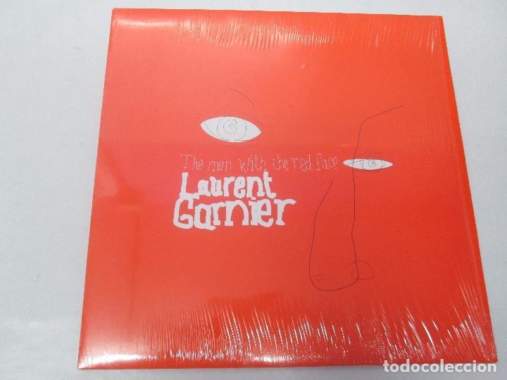 Discos de vinilo: THE MAN WITH THE RED FACE. LAURENT GARNIER. LP VINILO. COMMUNICATIONS 2000. VER FOTOGRAFIAS - Foto 2 - 98586551
