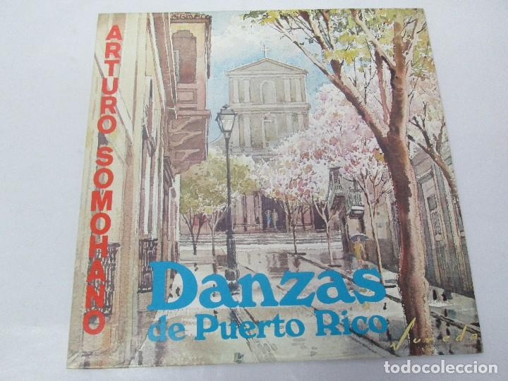 Discos de vinilo: DANZAS DE PUERTO RICO. ARTURO SOMOHANO. LP VINILO. VER FOTOGRAFIAS ADJUNTAS - Foto 2 - 98586915