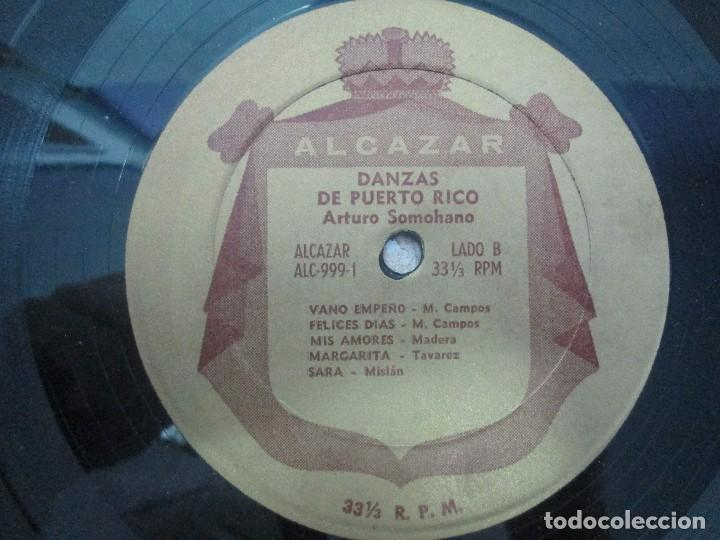 Discos de vinilo: DANZAS DE PUERTO RICO. ARTURO SOMOHANO. LP VINILO. VER FOTOGRAFIAS ADJUNTAS - Foto 4 - 98586915