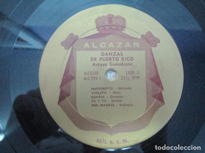 Discos de vinilo: DANZAS DE PUERTO RICO. ARTURO SOMOHANO. LP VINILO. VER FOTOGRAFIAS ADJUNTAS - Foto 6 - 98586915