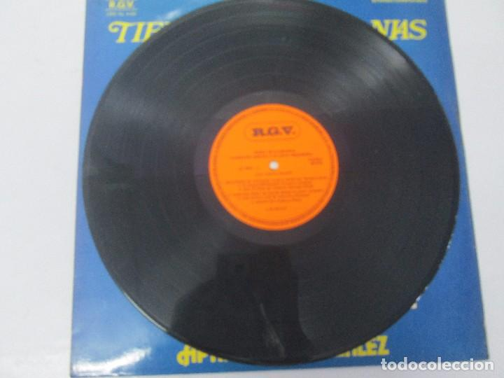 Discos de vinilo: TIERRA DE GUARANIAS. FLORENTIN GIMENEZ SU GRAN ORQUESTA. ARPA DE APARICIO GONZALEZ. LP VINILO 1979 - Foto 3 - 98589195
