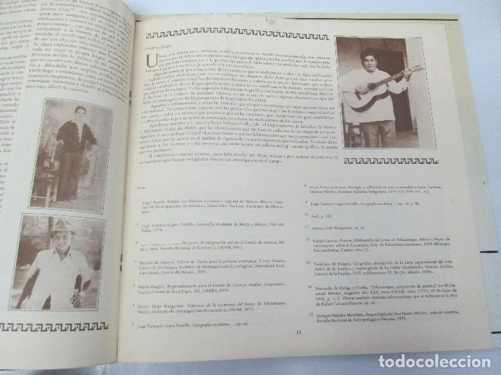 Discos de vinilo: CANCIONES DE VIDA Y MUERTE EN EL ISTMO OAXAQUEÑO. STIDXA RIUNDA. GUENDANABANI. NE GUENDA GUTI - Foto 6 - 154603446