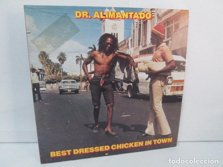 DR. ALIMANTADO. BEST DRESSED CHICKEN IN TOWN. LP VINILO EDIGSA 1980. VER FOTOGRAFIAS ADJUNTAS (Música - Discos - Singles Vinilo - Reggae - Ska)