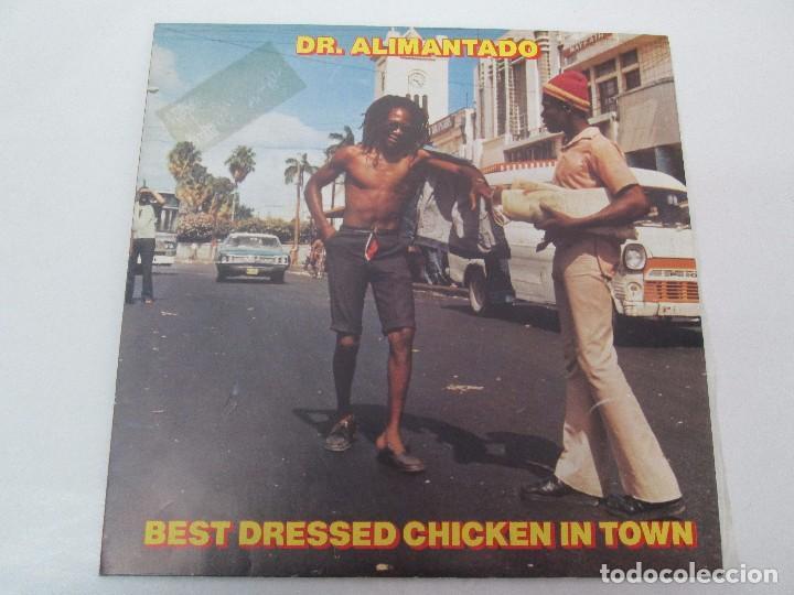 Discos de vinilo: DR. ALIMANTADO. BEST DRESSED CHICKEN IN TOWN. LP VINILO EDIGSA 1980. VER FOTOGRAFIAS ADJUNTAS - Foto 2 - 98592775