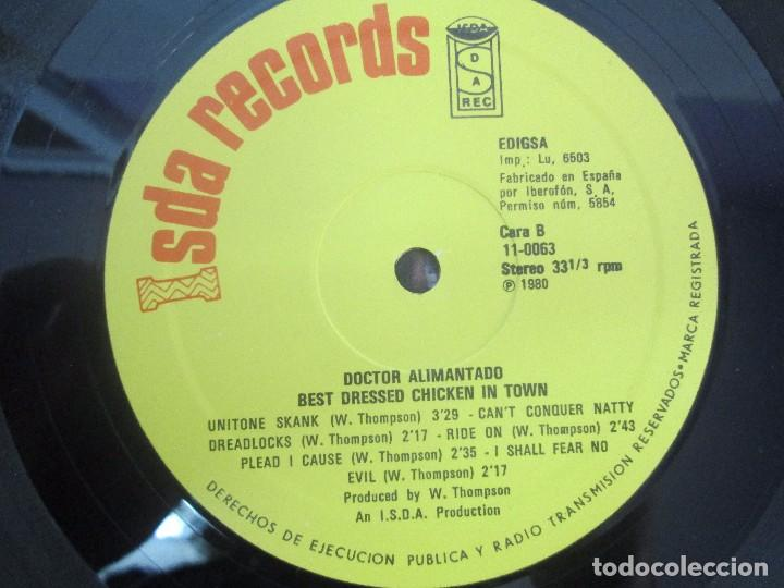 Discos de vinilo: DR. ALIMANTADO. BEST DRESSED CHICKEN IN TOWN. LP VINILO EDIGSA 1980. VER FOTOGRAFIAS ADJUNTAS - Foto 4 - 98592775