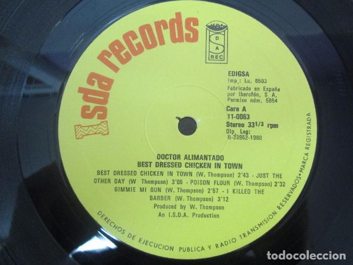 Discos de vinilo: DR. ALIMANTADO. BEST DRESSED CHICKEN IN TOWN. LP VINILO EDIGSA 1980. VER FOTOGRAFIAS ADJUNTAS - Foto 6 - 98592775