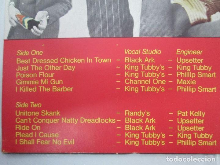 Discos de vinilo: DR. ALIMANTADO. BEST DRESSED CHICKEN IN TOWN. LP VINILO EDIGSA 1980. VER FOTOGRAFIAS ADJUNTAS - Foto 7 - 98592775