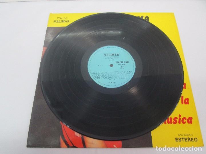 Discos de vinilo: SANTOS LIMA. BODAS DE PLATA CON LA MUSICA. LP VINILO, VELIMAR. VER FOTOGRAFIAS ADJUNTAS - Foto 3 - 98594467