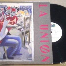 Discos de vinilo: LA UNION- EL MALDITO VIENTO - LP WEA1985. Lote 98594755