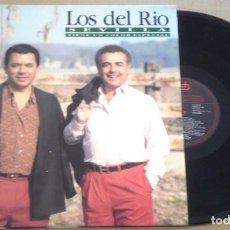 Discos de vinilo: LOS DEL RÍO - SEVILLA TIENE UN COLOR ESPECIAL - LPCFE1991 COMO NUEVO. Lote 98594839