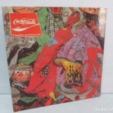 Discos de vinilo: CUCHARADA. EL LIMPIABOTAS QUE QUERIA SER TORERO. LP VINILO. CHAPADISCOS 1979. VER FOTOGRAFIAS ADJUNT. Lote 98594899