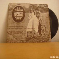 Discos de vinilo: SINGLE VINILO - B.J. THOMAS - 1969 - RAINDROPS KEEP FALLIN' ON MY HEAD / IF YOU EVER LEAVE ME. Lote 98605915
