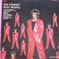 Discos de vinilo: ROD STEWART,BODY WISHES EDICION ESPAÑOLA DEL 83. Lote 98611735