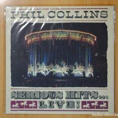 Discos de vinilo: PHIL COLLINS - SERIOUS HITS...LIVE - GATEFOLD - 2 LP. Lote 98613675