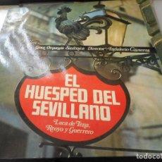 Discos de vinilo: EL HUESPED DEL SEVILLANO. Lote 98613815
