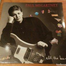 Discos de vinilo: DOBLE DISCO VINILO PAUL MACCARTNEY ALL THE BEST 1986. Lote 98613910