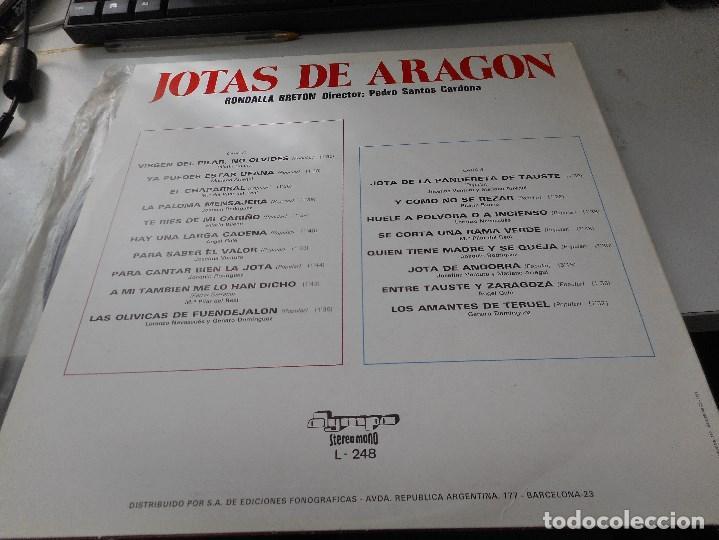 Discos de vinilo: jotas de aragon - Foto 2 - 98614243