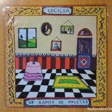 Discos de vinilo: CECILIA - UN RAMITO DE VIOLETAS - LP. Lote 98614911