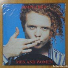 Discos de vinilo: SIMPLY RED - MEN AND WOMEN - LP. Lote 98615311