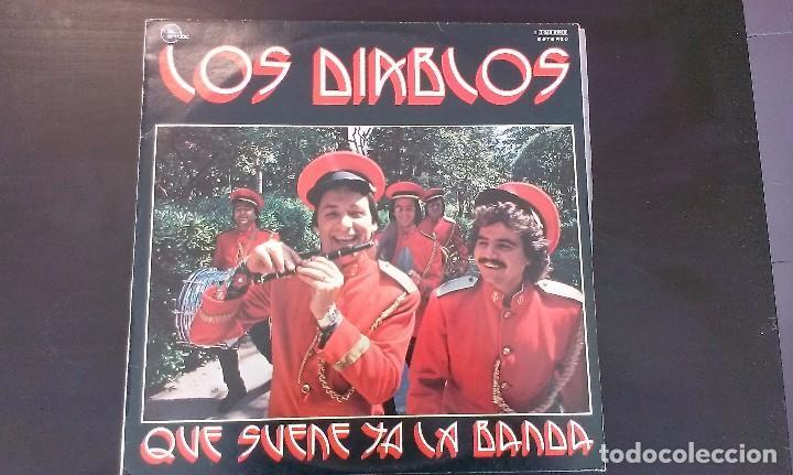 LP LOS DIABLOS QUE SUENE YA LA BANDA POP ROCK 70'S (Música - Discos - LP Vinilo - Grupos Españoles de los 70 y 80)