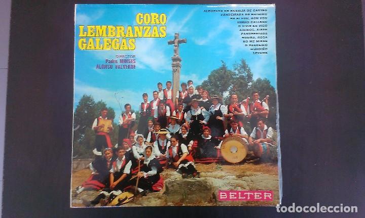 LP CORO LEMBRANZAS GALEGAS GALICIA FOLKLORE (Música - Discos - LP Vinilo - Flamenco, Canción española y Cuplé)