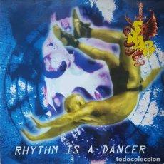 Discos de vinilo: SNAP! – RHYTHM IS A DANCER - MAXI-SINGLE SPAIN 1992 . Lote 98631079