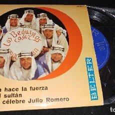 Discos de vinilo: LOS BEDUINOS DE CADIZ EP TEMAS ESTADO BUENO. Lote 98632307